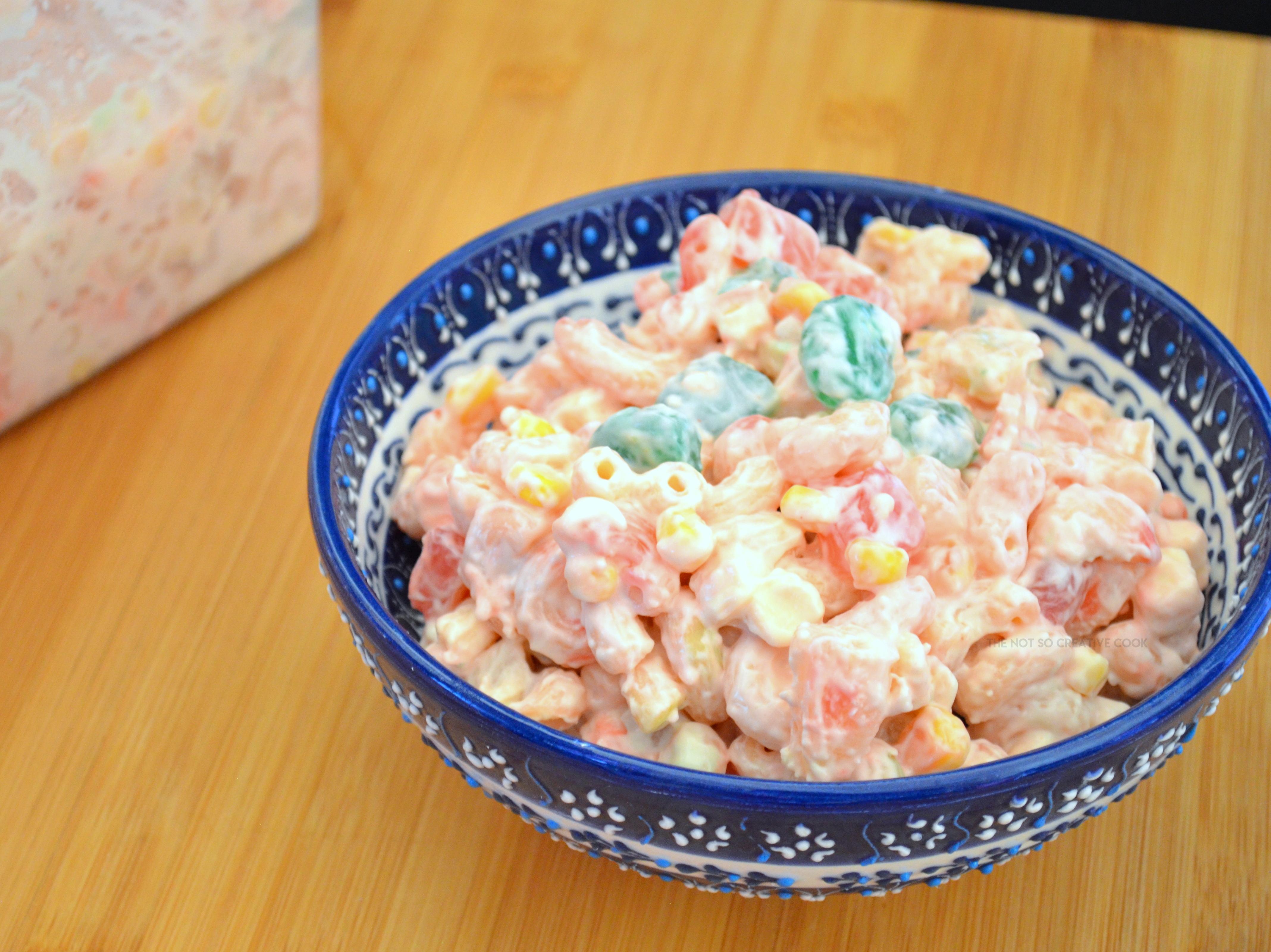 Macaroni Salad Recipe Pinoy